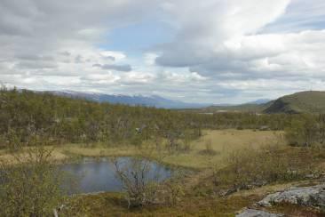 Endlose Wildnis in Nordschweden