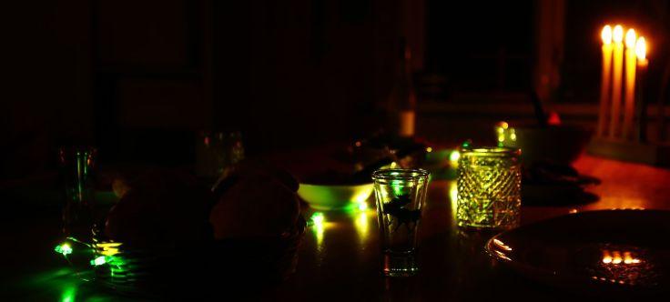 Tischarrangement bei Nacht   © Johannes Hansen